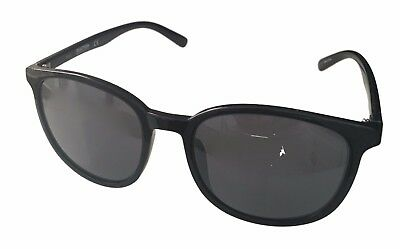 6f10ce4389 KENNETH COLE REACTION Mens Soft Square Shiny Black Sunglass KC1289 ...
