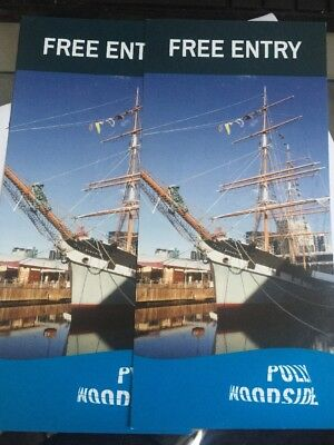 Polly Woodside - Melbourne's Tallest Ship 4 X Adults RRP $64