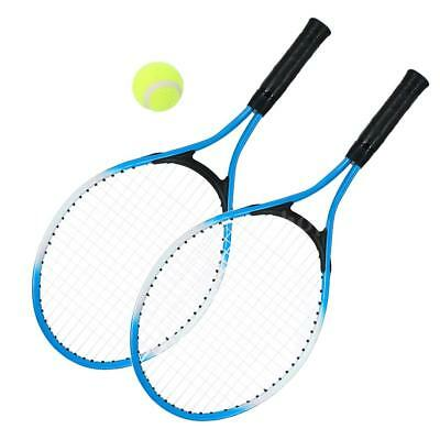 2Pcs Kids Tennis Racket String Tennis Racquets with 1 Tennis Ball and Cover R8H8