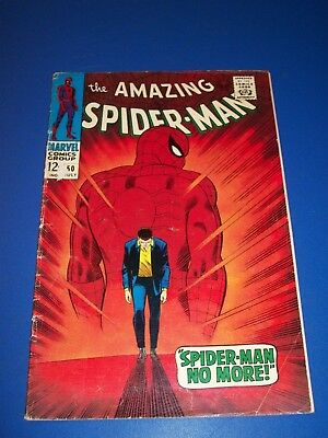 Amazing Spider-man #50 Silver Age 1st Kingpin Huge Key Great Cover Solid