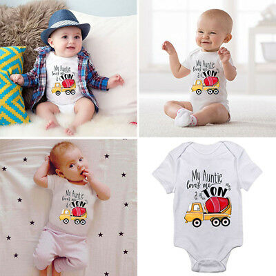 Cotton Baby Boy Girl Unisex Clothes Summer Romper Bodysuit Playsuit Outfits Hot