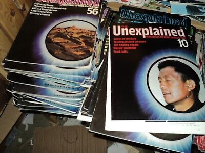 The Unexplained Orbis Magazine - job lot around 50 various issues