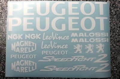 Peugeot Speedfight 2 Dekorsatz - Sticker - Aufkleber