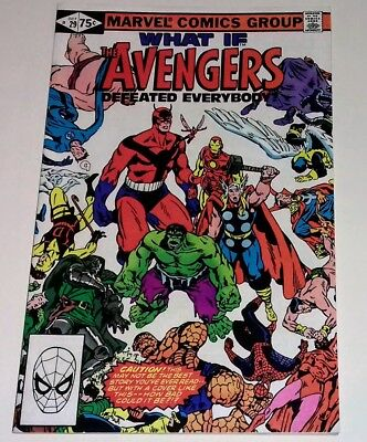 What If? 29 Avengers defeated Everybody Marvel Comics