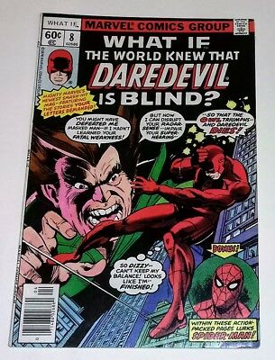 What If? 8 The World knew Daredevil is Blind? Marvel Comics