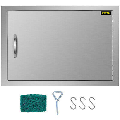 """20""""HX14""""W BBQ Access Single Door with Vents Polished Outdoor Kitchen Constructed"""