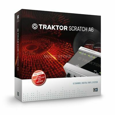 Native Instruments - TRAKTOR Scratch A6