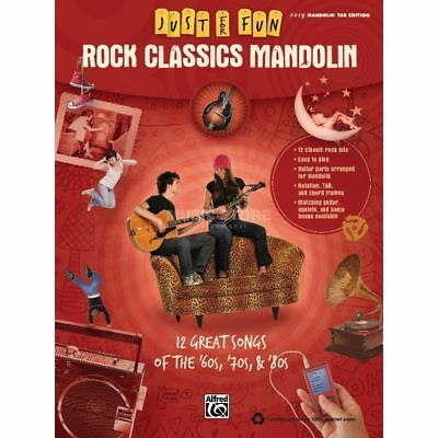 Alfred Music - Rock Classics - Mandoline Just for Fun