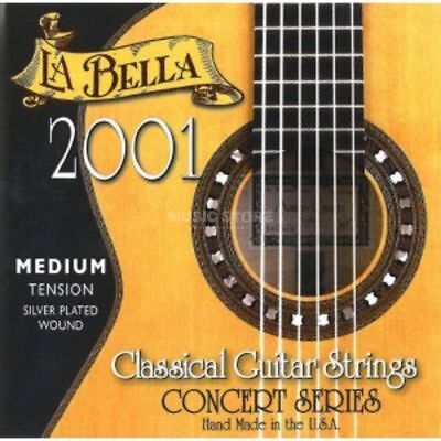 La Bella - 2001 Nylon Saiten Professional Silver Medium