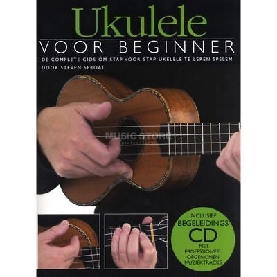 Wise Publications - Ukulele Voor Beginner Boek/CD
