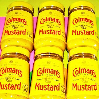 Colmans English Mustard 1020g 6x170g Hot Original Senf England €1.67/100g