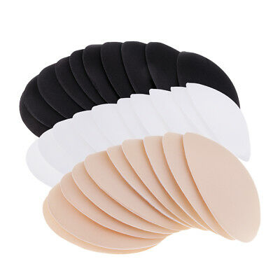 5 Pair Useful Round Bra Insert Breathable Pad Swimsuit Replacement for Women