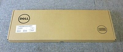DELL RX6RM KB216 New Sealed Multimedia USB Wired UK QWERTY Keyboard Black