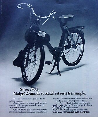 ►VELOSOLEX/SOLEX 3800 /publicité/advertising/1975/ ref.60459