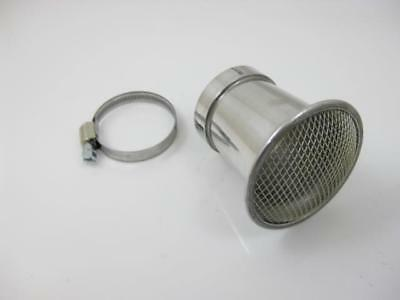 "Intake Trumpet 46mm Connection Width with Lattice "" Malossi "" 70mm Length"