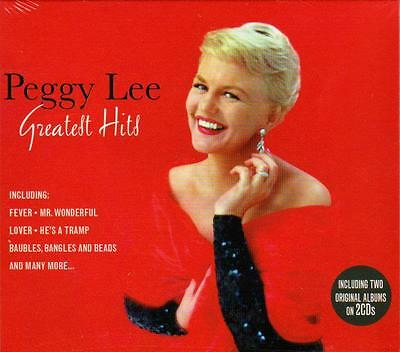Peggy Lee - Greatest Hits + 2 Albums (New Sealed 2Cd)