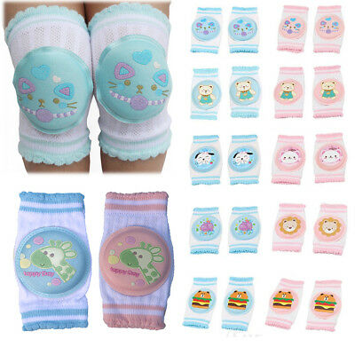 Kids Toddlers Infant Baby Safety Crawling Elbow Knee Pads Cushion Anti-Slip