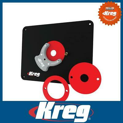 Kreg PRS4036 Precision Router Table Insert Plate Pre-Drilled Bosch Porter-Cable