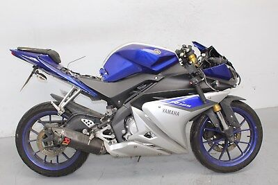 Yamaha YZF R 125 ABS DAMAGED SPARES OR REPAIR ***NO RESERVE*** (15599)