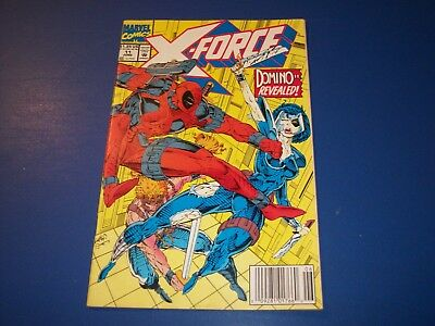 X-Force #11 Fine- Deadpool Wow Domino