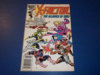 X-Factor #5 Bronze Age 1st Apocalypse Wow VF+ Beauty Key