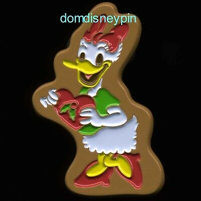 Disney Pin *Holiday Gingerbread 2017* Christmas Gift Card GWP - Daisy (LE 2650)!