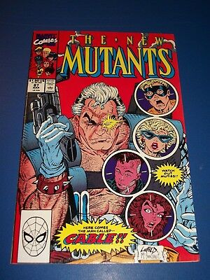 New Mutants #87 Huge Key VF-/VF 1st Cable X-men Deadpool 2 Movie WOW!