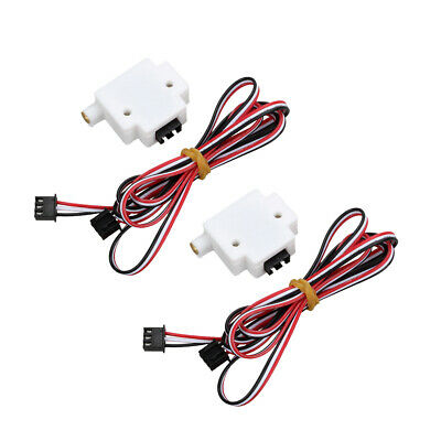 2x3D Printer Consumables Detection Module w Wire for 1.75mm Filament Monitor