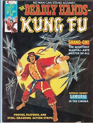 The Deadly Hands Of Kung Fu #5_Oct 1974_Very Good_Shang-Chi, Master Of Kung Fu!