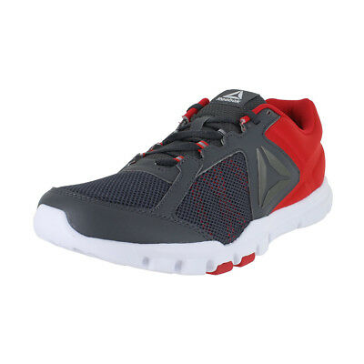 Reebok Yourflex Train 9.0 Mt Red Grey White Bs8032 Mens Us Sizes