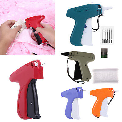 Clothes Garment Price Label Tagging Tag Gun with Punching Needle Sewing Tools