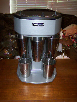 Waring WDM360 COMMERCIAL 3 SPEED  HEAVY DUTY SPINDLE DRINK MIXER