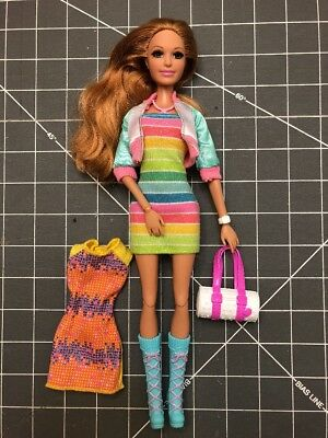 Life in the Dreamhouse 2013 Summer BARBIE Articulated DRESSED DOLL w/ Extras