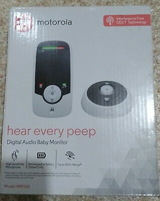Motorola MBP160 Digital Audio Baby Monitor  Wireless Technology