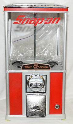 """NEW"" Snap-on Tools Northern Beaver 20 Gumball Bubble Gum Vending Machine"
