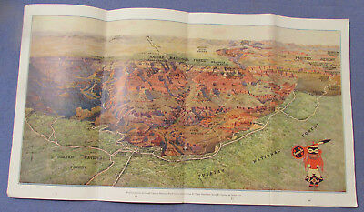 1929 Santa Fe Railroad Grand Canyon Outings Travel Booklet 31 Pages