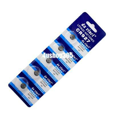 5Pcs CR927 DL927 BR927 5011LC LM927 KCR927 Button Coin Cell Battery Bulk Lot0 3V