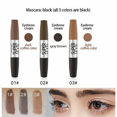 2f87257e933 Mascara Makeup Tool Waterproof Brow Tinted Eyebrow Gel Cream Long Lasting  km76