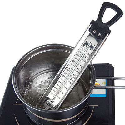 Steel Jam Sugar Thermometer Cooking Candy Kitchen Temp Check Stick