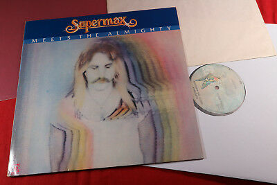 Supermax  MEETS THE ALMIGHTY  LP Elektra ELK 52317 Germany 1981