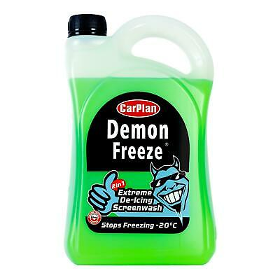 CarPlan Demon Freeze Screen Wash De-Icer Windscreen Cleaner 2.5 Litre x 6