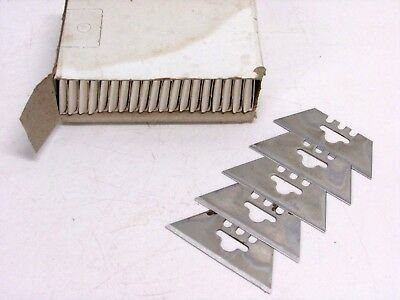 Lot Of 100 Replacement Utility Knife Blades, Made In U.s.a.