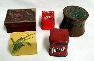 Collection of Small Vintage Boxes