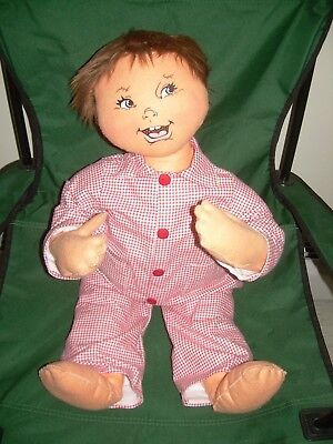 """Rare Annalee Large Baby in Pajama's  Hard to find Approx 27"""""""