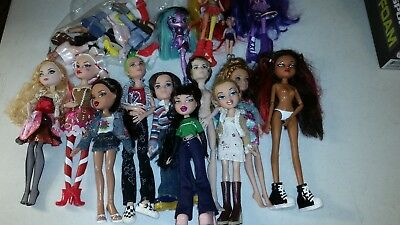 Nice Mixed Lot of Barbie Doll Disney Brats Ever After MGA Boys Shoes Clothes Acc