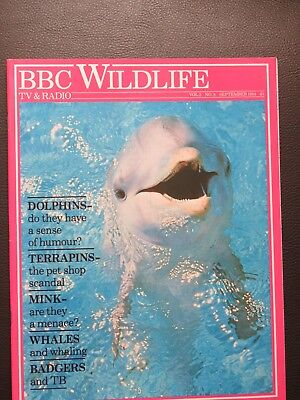 Bbc Wildlife Magazine Sept 1984