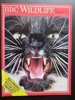 Bbc Wildlife Magazine May 1984, Great Condition