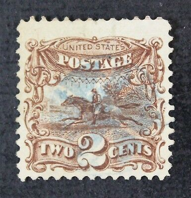 CKStamps: US Stamps Collection Scott#113 2c Pictorial Used Lightly Crease CV$85