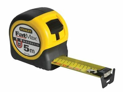Stanley Tools FatMax Blade Armor Magnetic Measuring Tape 5m METRIC ONLY