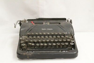 Vintage Smith Corona Sterling Art Deco Typewriter